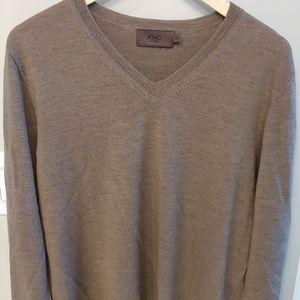 EUC 100% Merino wool men's sweater XL